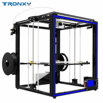 Tronxy X5SA Seitenansicht