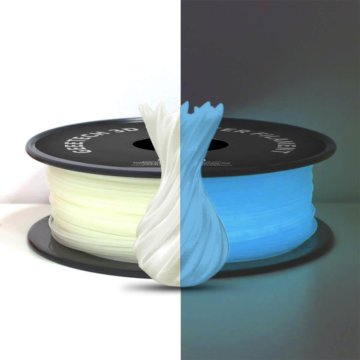 GEEETECH Leucht-Filament PLA blau-weiß