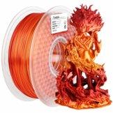 Mehrfarbiges glänzendes PLA-Filament – Gold-Rot