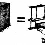 W.Afate 3D-Printer von Kodjo Gnikou