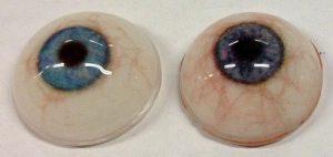 Bild Augen aus dem 3D-Drucker