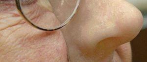 Foto Nase aus 3D-Drucker