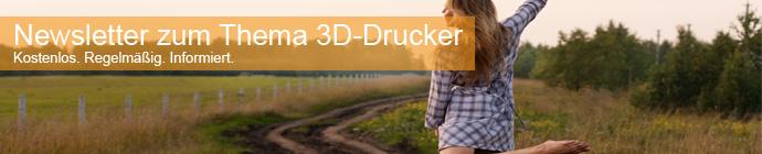 Seitenbild: 3D-Drucker Newsletter