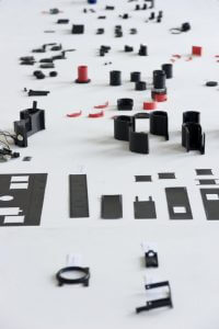 Foto Bauteile (Kleinteile) Spiegelreflexkamera