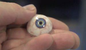 Foto Augenprothese aus 3D-Drucker
