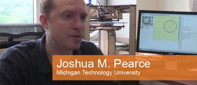 Foto Joshua M. Parce der Michigan Technology University
