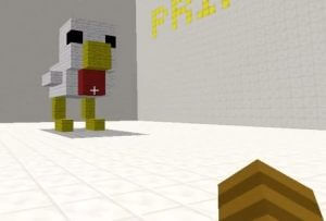 Screenshot Minecraft 3D-Drucker von ItsJustJumby