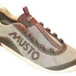 Schuh aus 3D-Drucker in Farbe