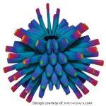 Farbverlauf in 3D-Druck erstellt mit 3D-Drucker
