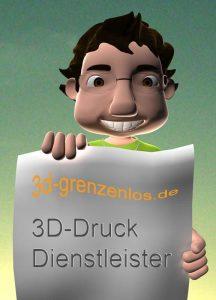 3D-Druck Dienstleister - 3D-grenzenlos.de