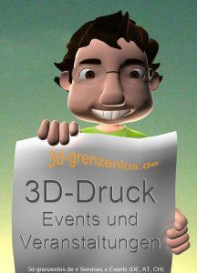 3D-Druck Events und Veranstaltungen in Deutschland, Österreich und Schweiz
