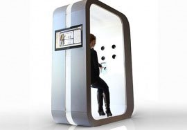 Die 3D-Scanner-Fotokabine 3DMe®Photobooth