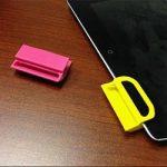 iPad Verstärker aus 3D-Drucker Prototypen