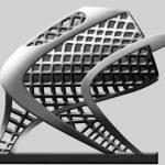 Foto vom Schlitten aus dem 3D-Drucker