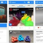 Screenshot Thingiverse App für Android