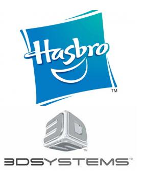 Hashbro und 3D-Systems
