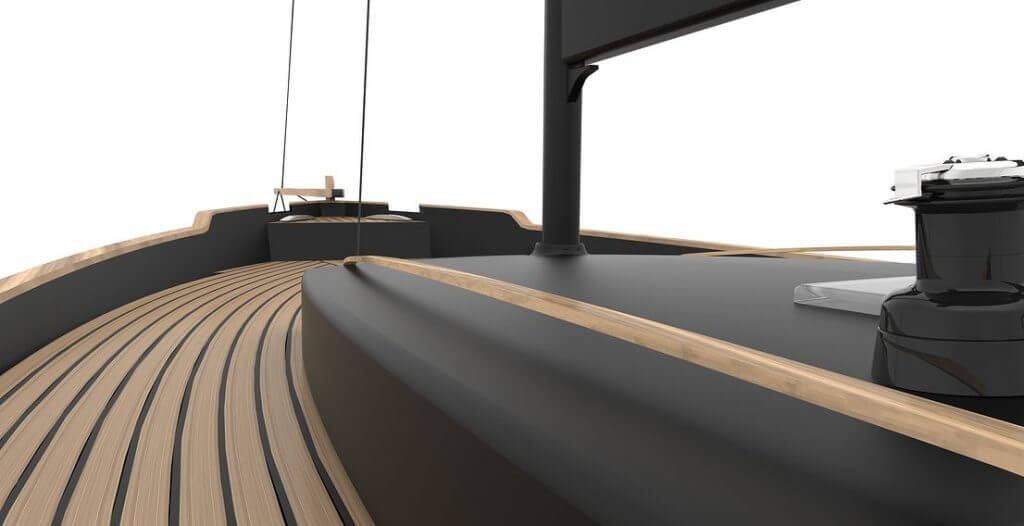 Livrea 26 - Deck und Reling