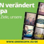 Bündnis 90/Die Grünen Europawahl Wahlwerbung