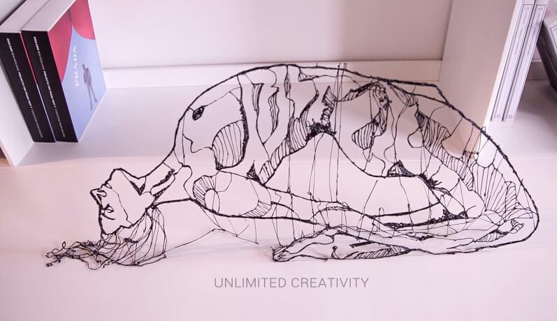 Kunst mit 3D Stift