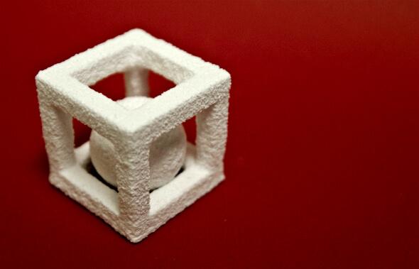 Cooles Objekt aus 3D-Drucker