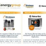 Energy Group, MakerBot und Stratasys