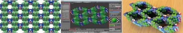 Kristallographie mit 3D-Druck - Bilderreihe