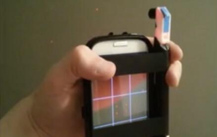 lazeeeye aufsatz macht smartphone zum mobilen 3d scanner. Black Bedroom Furniture Sets. Home Design Ideas