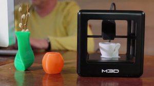 Mirco 3D und Objekte mir 3D-Drucker erstellt