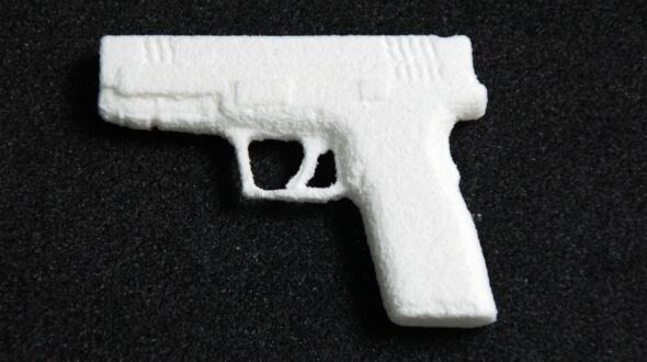 Pistole aus Zucker