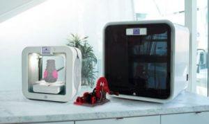 Foto Cube 3 und CubePro 3D von 3D Systems