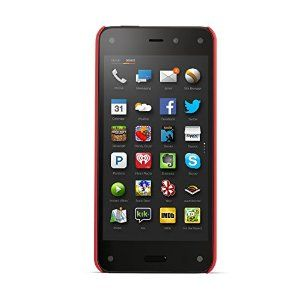 Amazon Fire Phone in rot