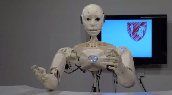 Javris 3D-Roboter (Infobot)