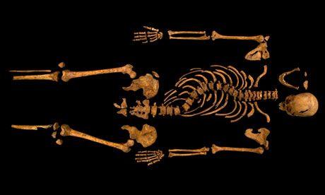 Skelett Richard III (König England)