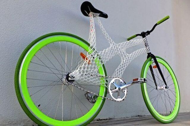 Bild: Fahrradrahmen aus 3D-Drucker