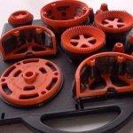 Getriebe aus 3D-Drucker