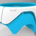 Helmorthese aus 3D-Drucker