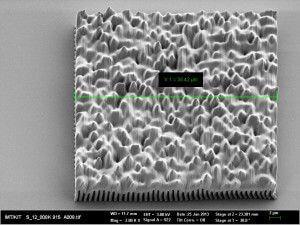 Mikrostrukturierte Oberfläche aus dem 3D-Drucker