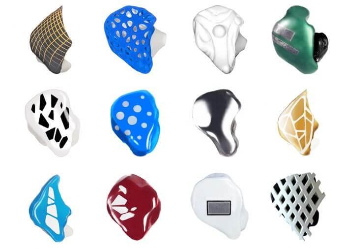OwnPhones Beispiele für Stile und Farben
