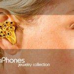 OwnPhones aus Gold als Schmuck