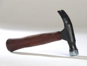 Papierhammer aus dem 3D-Drucker