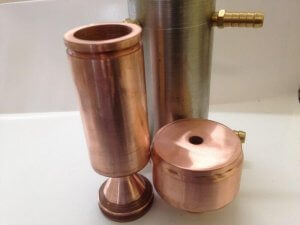 Objekte aus dem 3D-Metalldrucker