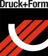 """Druck+Form"" Logo"