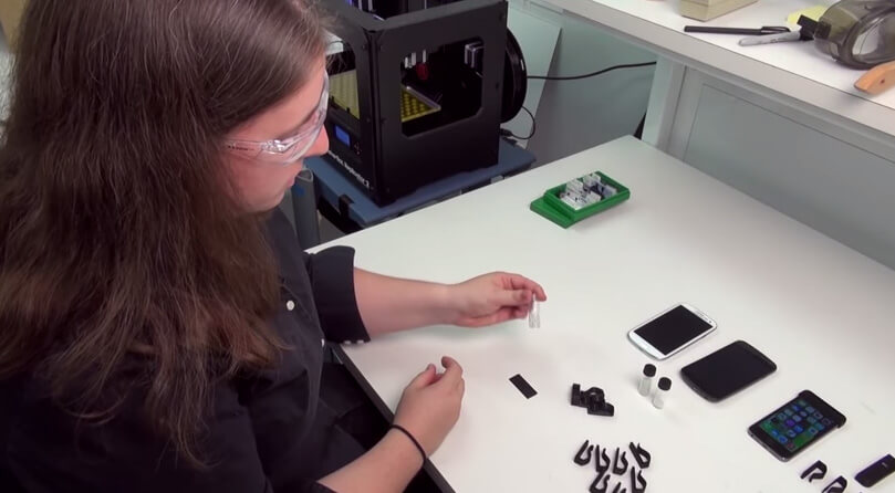 Smartphone-Mikroskop zusammenbauen