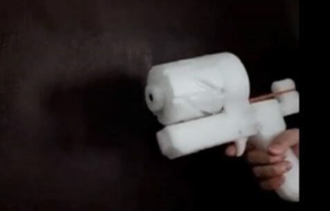 Zig Zag Revolver aus 3D-Drucker