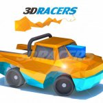 3DRacers Logo