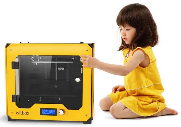 """3D-Drucker """"Witbox von BQ"""