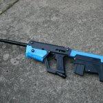 Paintball-Pistole mit Bauteilen aus dem 3D-Drucker