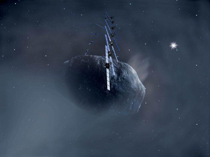 Rosetta auf Komet 67P