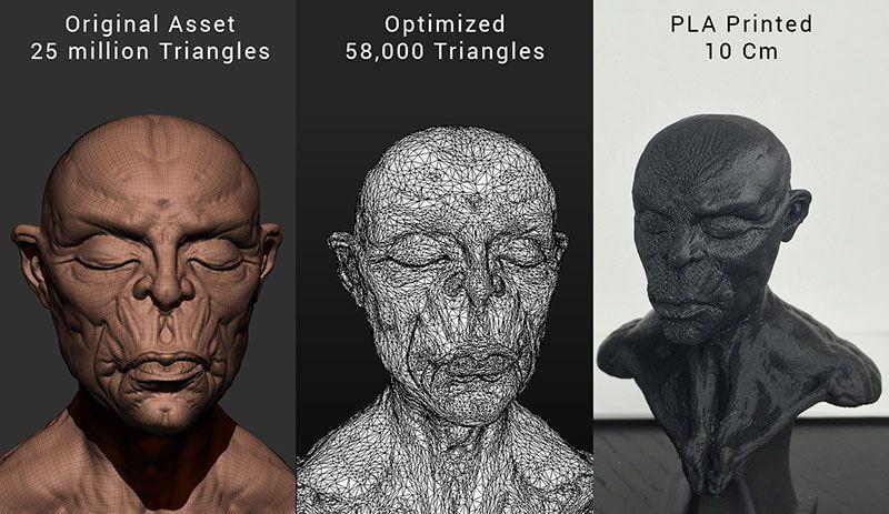 Optimierung 3D-Modell