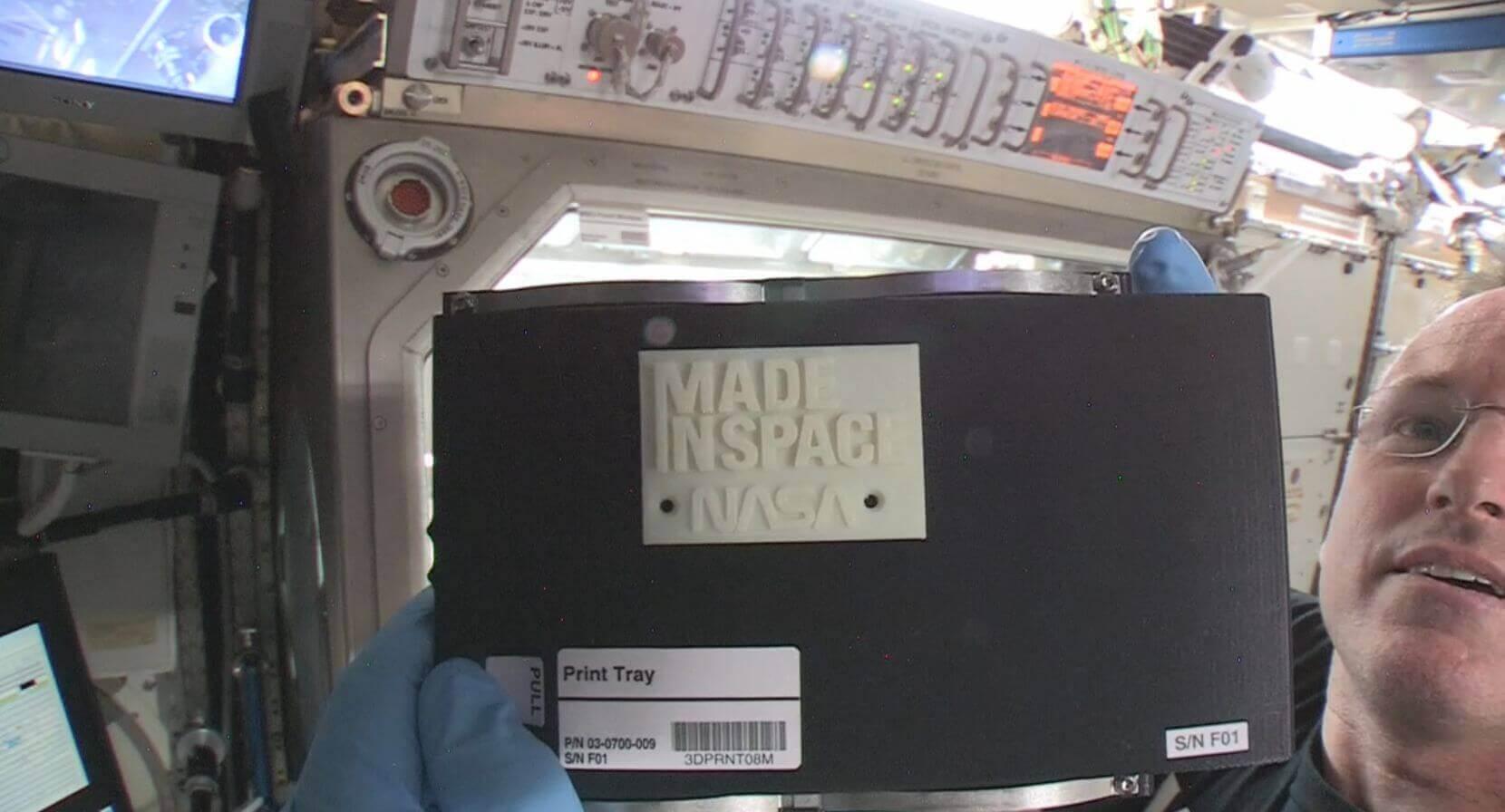 Erster 3D-Druck im Weltall
